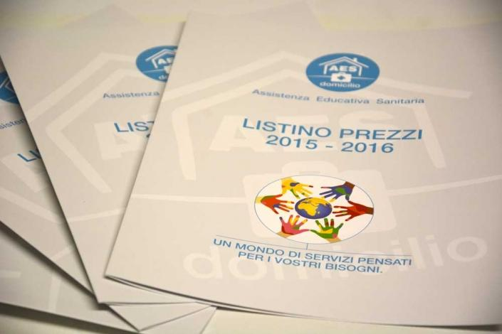 Stampa listino prezzi Monza