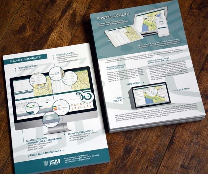 depliant brochure aziende