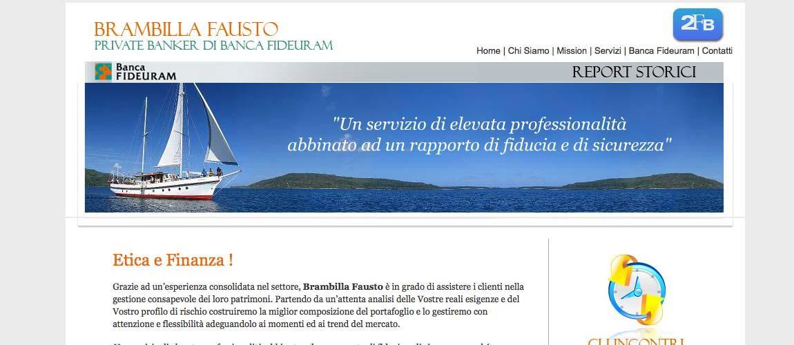 Creazione sito web Vimercate Monza e Brianza, 2FB Promotore Finanziario
