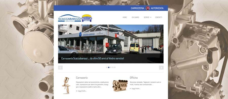 Sito web Carrozzeria Scaccabarozzi