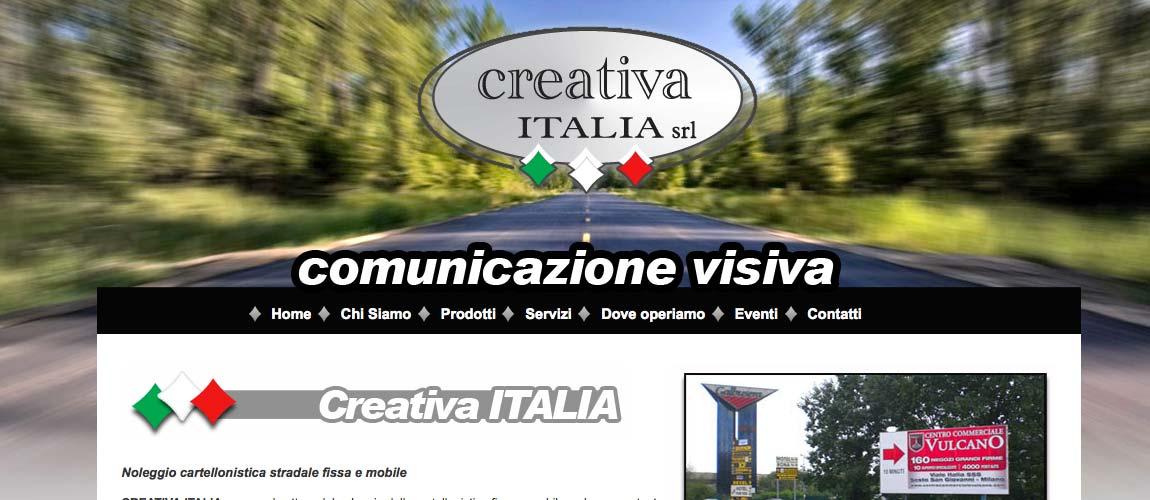 Realizzazione sito web Monza e Brianza, Creativa Italia