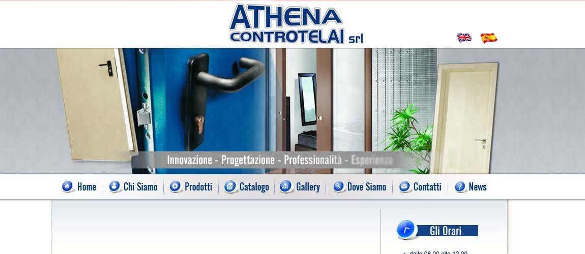 Sviluppo sito web Athena Controtelai, Cornate d'Adda Monza e Brianza