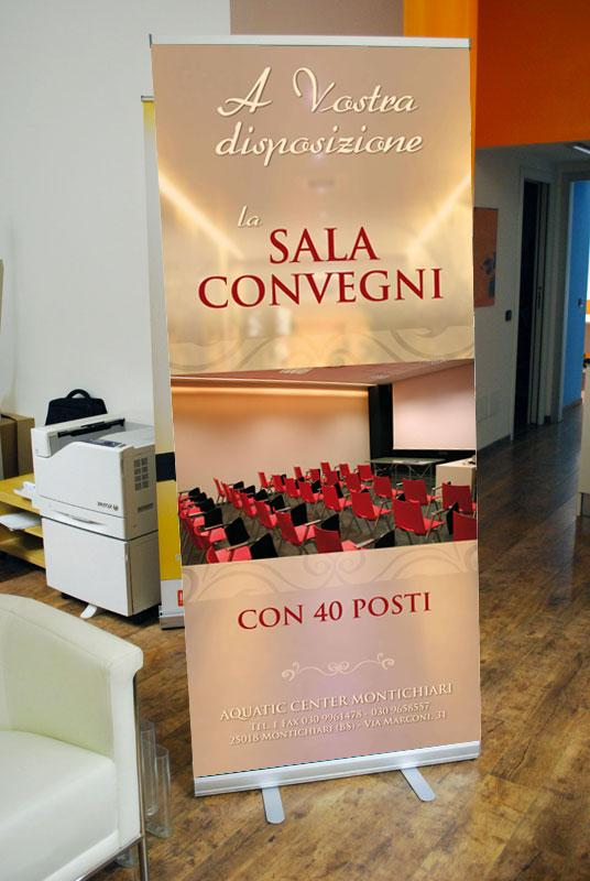 stampa roll up Lecco Monza