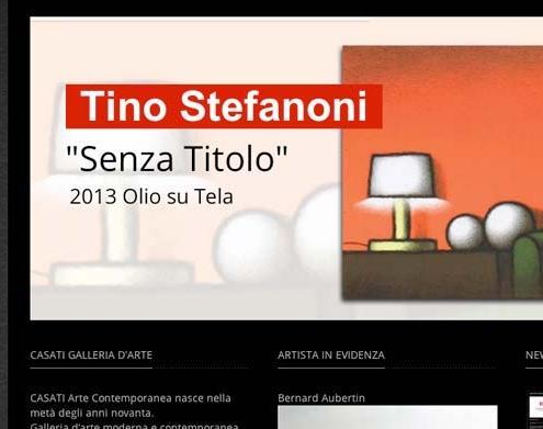 sito web galleria arte