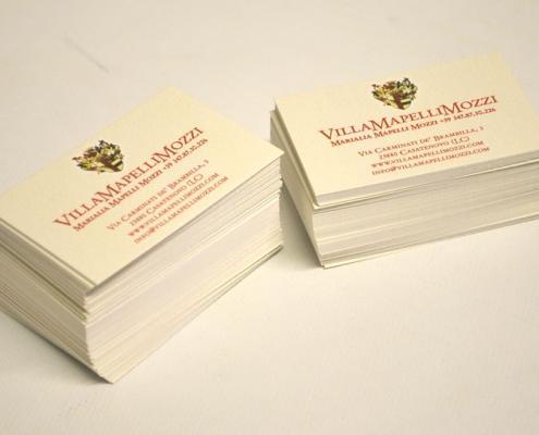 biglietti visita carte speciali