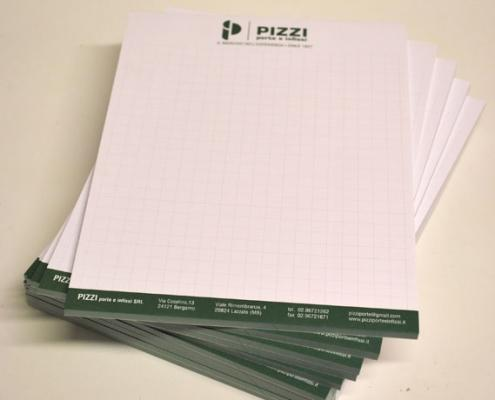 stampa block notes personalizzati