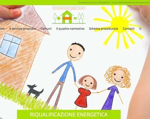 Sito web Riqualificazione Energetica Italia