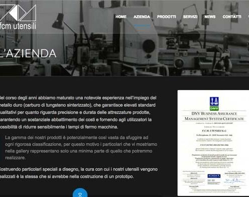 sito web professionale azienda