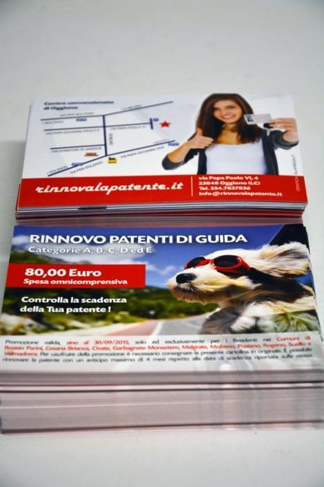 stampa cartoline digitale Monza