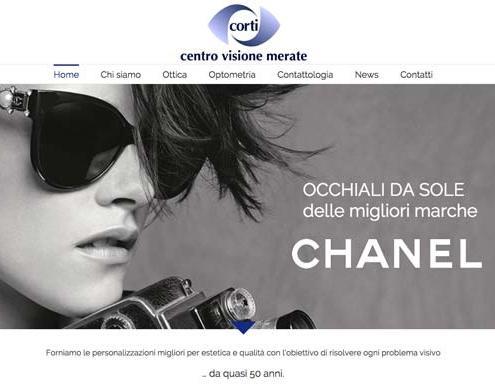 sito internet negozio ottica