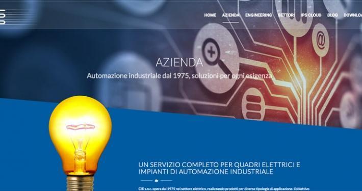 sito web professionale azienda automazione monguzzo