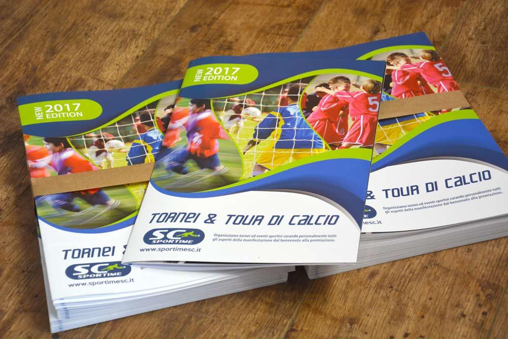 Realizzazione grafica di brochure in Brianza