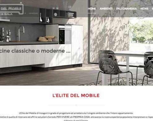 Sito internet negozio arredamenti - Inzago Milano