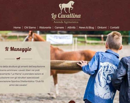 sito web agriturismo como