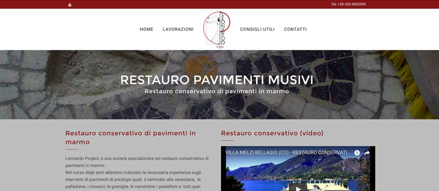 web design lp ristrutturazioni-monza