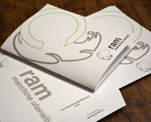 Realizzazione cartelline di presentazione aziendale a Milano