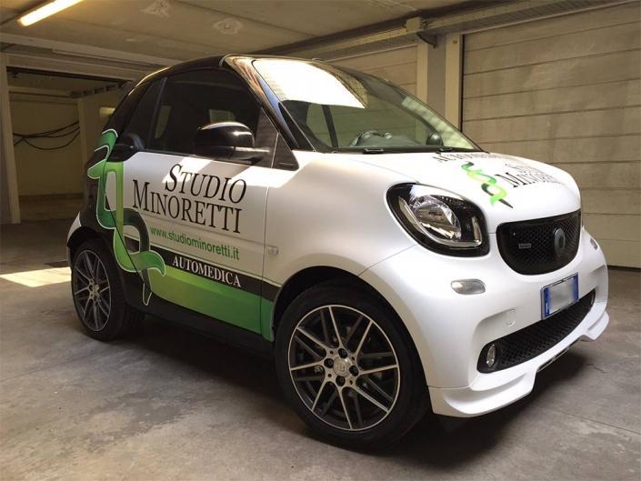 Personalizzazione auto aziendale a Lecco
