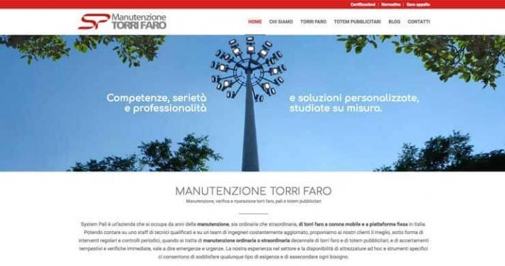 website manutenzione torri faro