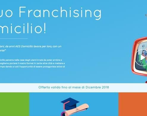 Creazione sito web franchising AES Domicilio