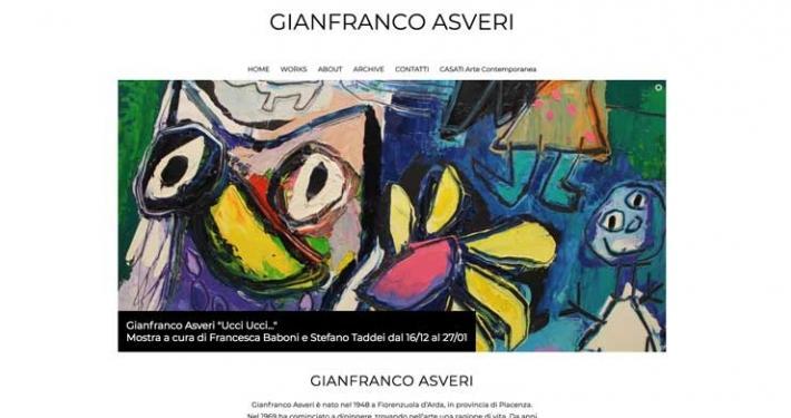 Sviluppo sito web Gianfranco Asveri