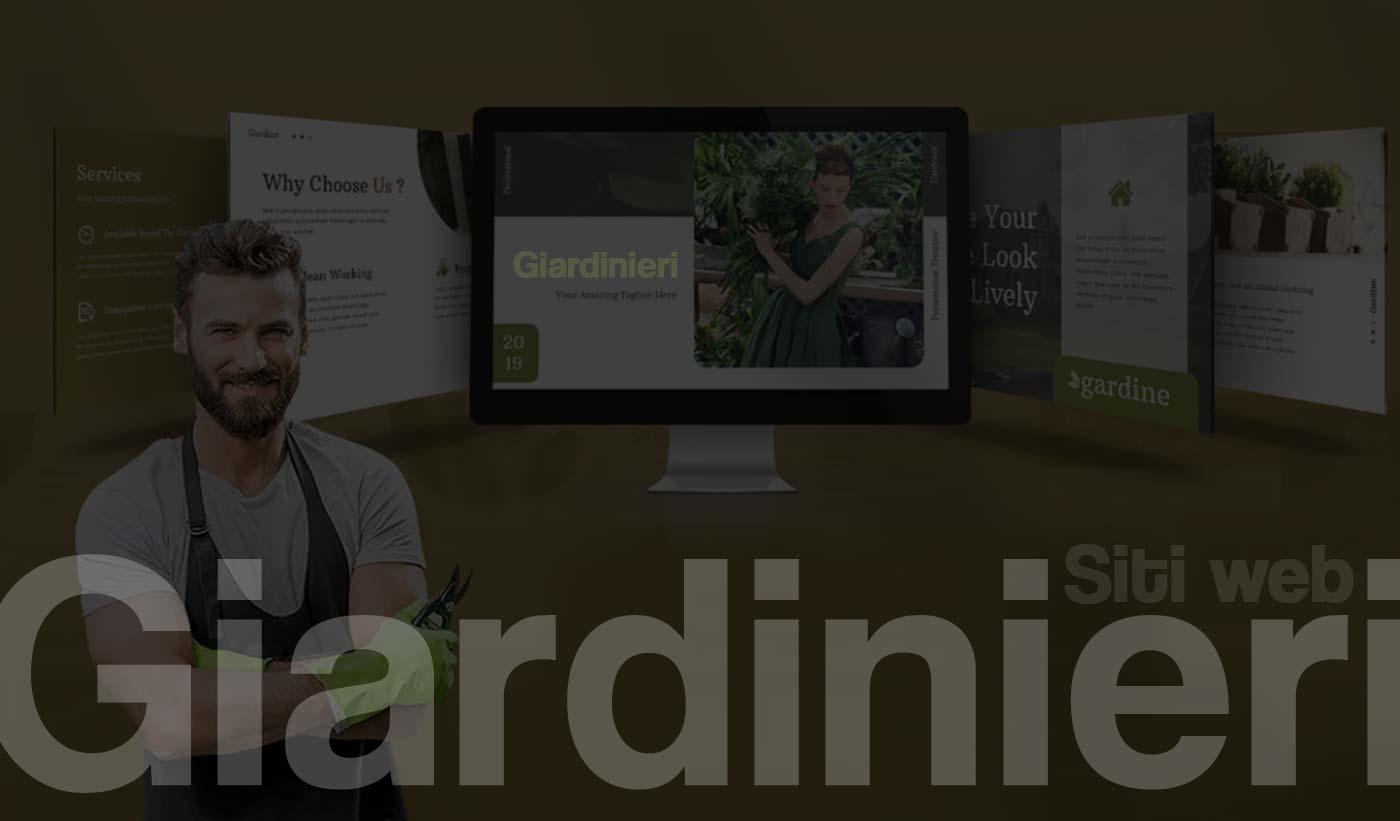 Realizzazione Siti web per giardinieri