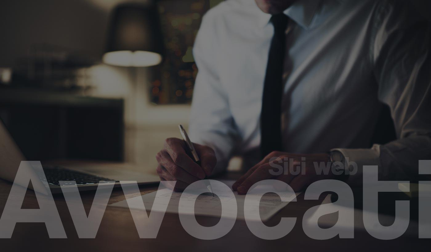 Siti Web Avvocati Studi Legali